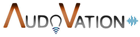 Audovation Logo no tagline