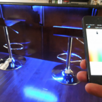 Smart lighting under bar