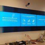 3 TV screen corporate mount